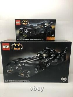 LEGO 76139 DC 1989 Batmobile Set with Limited Edition Batmobile 40433 (retired)
