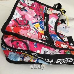 LeSportSac Hello Kitty Classic Hobo & Pouch Colorful Limited Edition NWT Retired