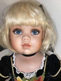 Limited Edition Jan McLean Porcelain Doll Polly