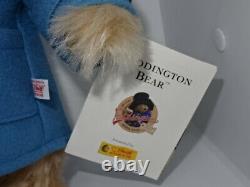 Limited Edition Steiff 354724 Paddington 2007 50th Anniversary Bear & Suitcase