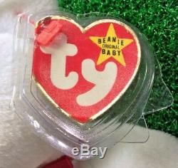 Limited Edition Ty Beanie Baby Valentino The Bear Toys For Tots 1 / 5,500 MWMT