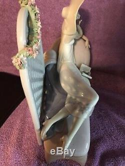 Lladro # 7634 Garden Of Dreams 1994 Retired Limited Edition #513 Figurine