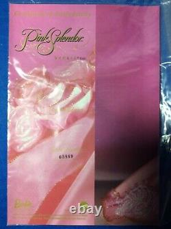 Mattel Barbie Pink Splendor 1996 Limited Edition Doll In Original Box