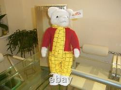 Merrythought Rupert Bear LIMITED EDITION FULLY BOX WITH ALL LABELS No 287 LARGE