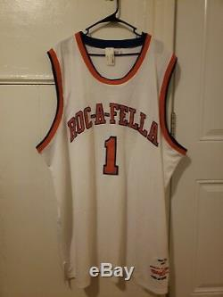Mitchell & Ness ROC-A-FELLA Jay-Z Retirement Jersey Limited Edition Size60
