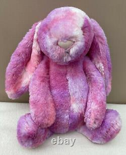 NEW Jellycat Special Edition Medium Sherbet Bunny Soft Toy Pink Purple BNWOT