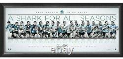 Paul Gallen Cronulla Sharks Signed Framed Limited Edition Retirement Lithograph