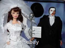 Phantom of the Opera BARBIE & KEN DOLLS FAO Schwartz Limited Edition 1998
