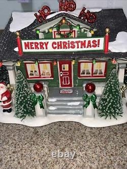 RETIRED Department 56 SNOW VILLAGE Limited Edition THE SANTA CLAUS HOUSE