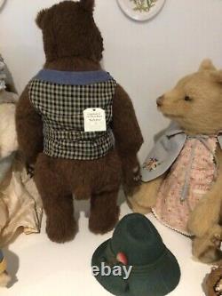 R John Wright Goldilocks & The Three Bears. Ltd Edition Beautiful Set