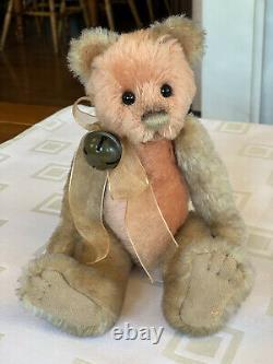 Rare Charlie Bear, Pomegranate, Isabelle Collection SJ4604B Ltd Edition 186/400