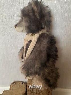 Rare Charlie Bear Sylvester Retired Super Hard To Find Limited Edition Mohair