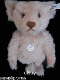 Rare! Steiff Teddy Rose 1925 Limited Edition 10,000 Ean 0171/41 Box, Certificate