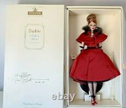 Ravishing In Rouge Barbie Limited Edition Fao Schwarz 52741 Signed Robert Best