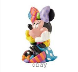 Romero Britto Disney Limited Edition Large Sitting Minnie Mouse Retired 15.75 In