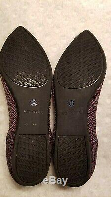 Rothy RETIRED Nordstrom Exclusive Limited Edition Pepper Pinstripe 7.5 BNIB