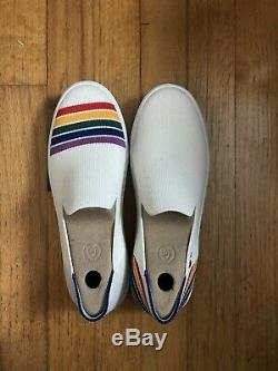 Rothys Rainbow Sneaker Size 7.5 San Francisco Pride Limited Edition! Retired