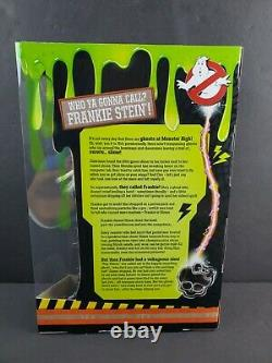 SDCC 2016 Exclusive Monster High GHOSTBUSTERS FRANKIE STEIN Doll Limited Edition