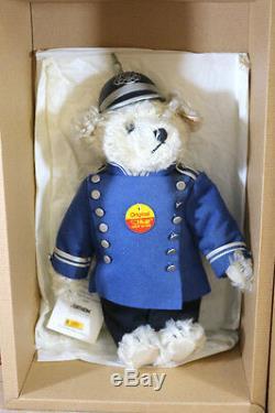 STEIFF 655364 TEDDY BEAR BERLINER POLICEMAN SCHUTZMANN LIMITED EDITION 1997 ng