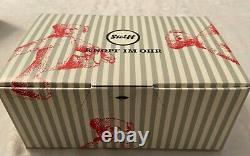 STEIFF Limited Edition Peky Mouse EAN 006852 with miniature teddy bear, Alpaca