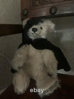 STEIFF Musical Bear Phantom of the Opera 662164 Limited Edition