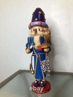 STEINBACH NUTCRACKER MERLIN THE MAGICIAN 18 Limited Edition SIGNED # 231