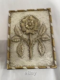 Sid Dickens Memory Block T-499 Tudor Rose -Retired Limited Edition