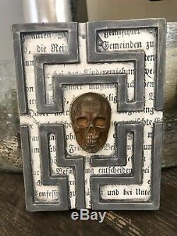 Sid Dickens RETIRED Limited edition LE20 36 Skull Wall TILE