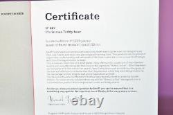 Steiff 006326 Christmas Teddy Bear Limited Edition COA & Boxed