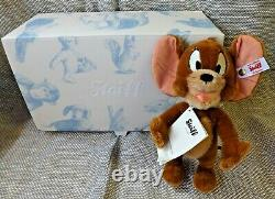 Steiff 34595 Warner Brothers Jerry (Mouse). Limited Edition. Boxed. BRAND NEW