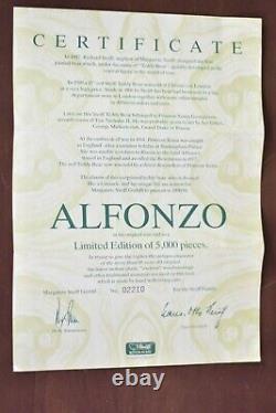 Steiff 406195 Alfonzo Growler Limited Edition COA & Boxed