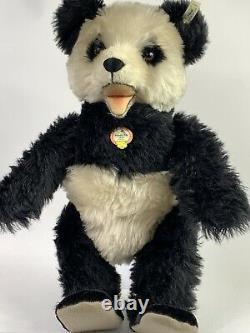 Steiff 408335 Panda Bear Replica 1951 Limited Edition Growler Tagged