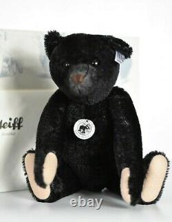 Steiff 408564 Teddy Bear 1908 Replica Black Growler Limited Edition COA & Boxed