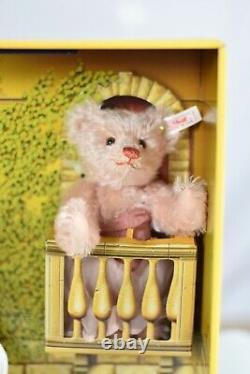 Steiff 653193 Harrods Romeo and Juliet Bear Set Musical Ltd Edition COA & Boxed