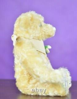 Steiff 661563 Schneeglockhen Teddy Bear Limited Edition COA