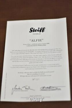 Steiff 663109 Alfie Limited Edition COA & Boxed