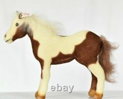 Steiff 667435 American Painted Horse Limited Edition COA & Bag