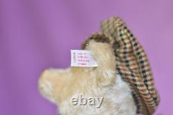 Steiff 670671 Golfer Teddy Bear Limited Edition COA & Bag