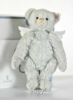 Steiff 676833 Lladro Teddy Bear Angel Limited Edition COA & Boxed