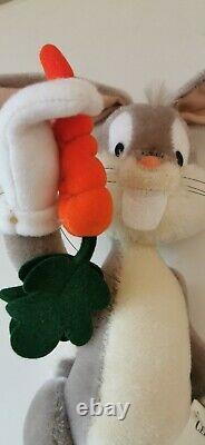 Steiff Bugs Bunny Limited Edition Warner Bros. Rare, Box & Special Bag Mohair