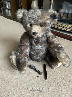 Steiff FRANZ Mohair Bear (034091) 52 cm Boxed Ltd Edition 96/110 VERY RARE