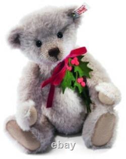 Steiff Holly Berry Teddy Bear Ean 035357 2012 World-wide Limited Edition