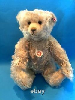 Steiff Ice Teddy Bear Ean 036842 Light Blue Mohair Jointed Limited Edition