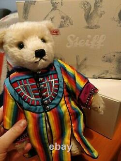 Steiff Joseph And The Technicolor Dreamcoat Musical Bear Limited Edition Rare