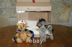 Steiff Limited Edition Teddy Bear with little Donkey