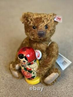 Steiff MATRJOSCHKA (Russian doll) (034190) 26 cm Mohair Boxed Ltd Edition