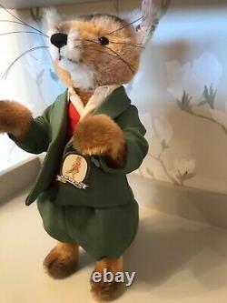 Steiff Mr Tod Fox Limited Edition