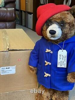 Steiff PADDINGTON BEAR (664960) 60cm Mohair Boxed Ltd Edition 400/500
