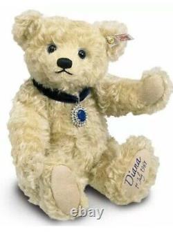 Steiff Princess Diana 50th Birthday Bear Limited Edition Ean 663840-growler Bnwb