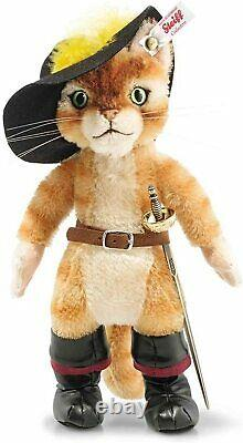 Steiff Puss in Boots 26cm Limited Edition of 1500